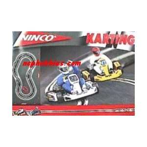 Ninco   Karting 1/32 Slot Car Race Set (Slot Cars): Toys & Games