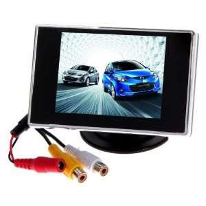 3.5 TFT LCD Rear view car Mirror Monitor: Electronics