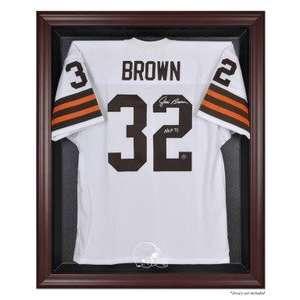 Cleveland Browns Mahogany Framed NFL Jersey Display Case