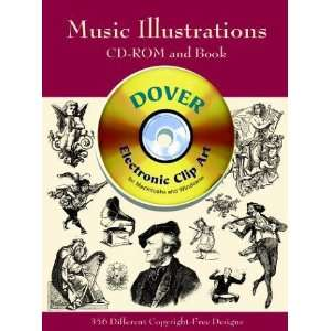 Music Illustrations (Dover Electronic Clip Art) (CD ROM