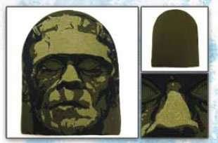 1fe2548d8a7 ... Frankenstein Screen Printed Knit Ski Mask Costume Hat  Clothing ...