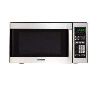 Small Countertop Microwave Dimensions : Cu. Ft. Compact Countertop Microwave Oven Stainless Steel: Electronics