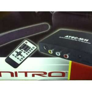NITRO ATSC M/H Digital TV Receiver Box and Waterproof Active Antenna