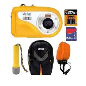 Vivitar Vivcam V8400 8.1MP 8X Digital Zoom Underwater Digital Camera