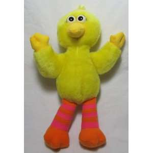 Retired Sesame Street 9 Tyco Big Bird Plush Doll: Toys & Games