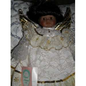 Anne Porcelain African American Doll   By Bette Ball Toys & Games