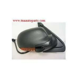 MIRROR, LEFT SIDE (DRIVER), POWER HEATED with PUDDLE LIGHT MANUAL FOLD