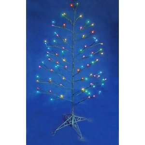 5 Multi Color LED Random Twinkling Christmas Tree Yard
