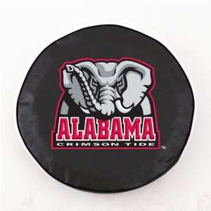 Alabama Crimson Tide Logo Tire Cover (Black) A H2 Z