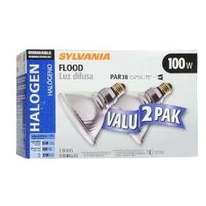 SYLVANIA 2 Pack 100 Watt Outdoor Flood Light Bulb 15460