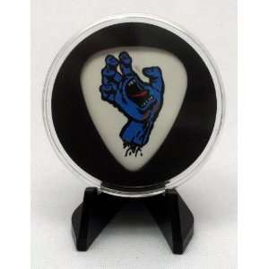 Dunlop Santa Cruz Screaming Hand Guitar Pick With MADE IN USA Display