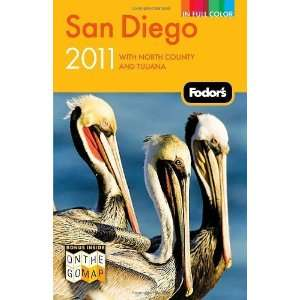 and Tijuana (Full color Travel Guide) [Paperback] Fodors Books