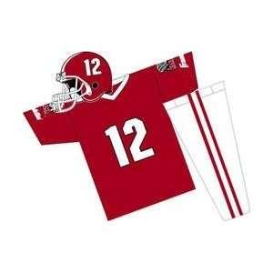 Alabama Crimson Tide Youth NCAA Team Helmet and Uniform
