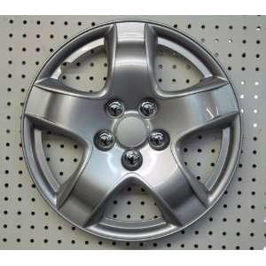 Drive Accessories  14SL 14 Inch Plastic Wheel Cover, Silver Lacquer