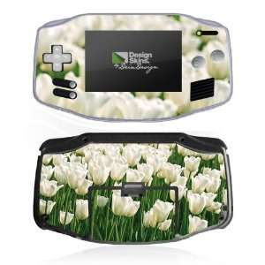 Design Skins for Nintendo Game Boy Advance   White Tulip