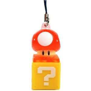 Nintendo Super Mario Bros. Mushroom Light Up Keychain Video Games