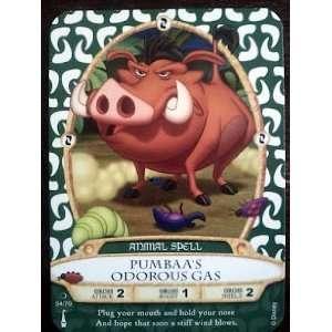 Sorcerers Mask of the Magic Kingdom Game, Walt Disney World   Card #54