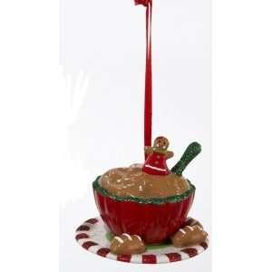 Kisses Bowl of Cookie Dough Chrismas Ornamen Home & Kichen