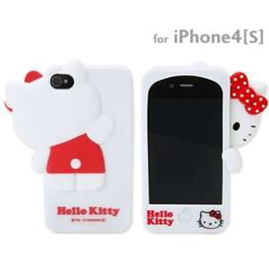 Sanrio Hello Kitty Hide and Seek 3D Cover for iPhone 4S/4 (White