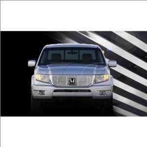 SES Trims Chrome Billet Upper Grille 09 11 Honda Ridgeline Automotive