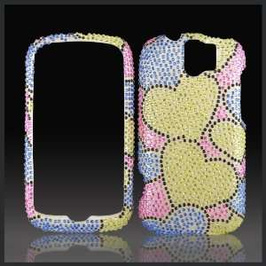 crystal bling rhinestone diamond case cover for HTC MyTouch Slide 3G