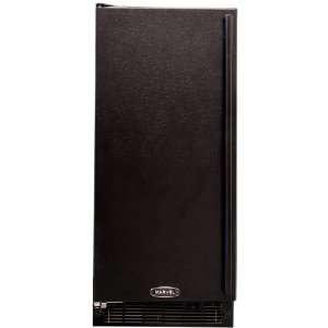 Under Counter Ice Machine Black Cabinet Full Black Door Appliances