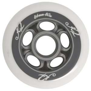 K2 SPORTS Womens 4 Pack Inline Skating Wheels (84mm