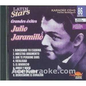 CDG Latin Stars Vol. 86   Julio Jaramillo Grandes Exitos Karaoke CDG