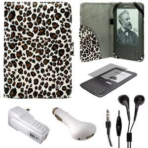 Portfolio Nylon Carrying Case Cover for  Kindle 3rd Generation