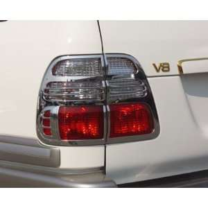 Chrome Tail Lamp Covers, for the 2005 Toyota Land Cruiser Automotive