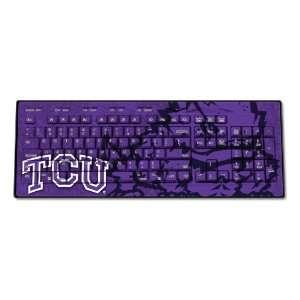 TCU Horned Frogs Wireless USB Keyboard