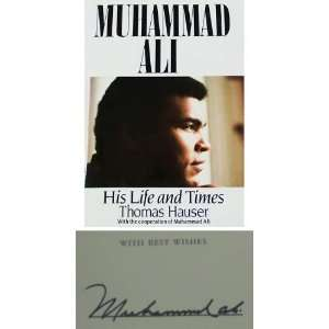 Ali Signed Book   Autographed Boxing Magazines Sports Collectibles