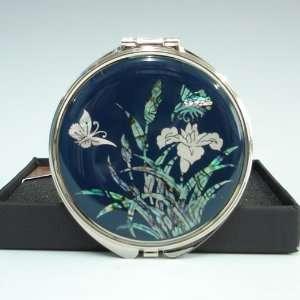Lady Hand Compact Cosmetic Makeup Purse Handbag Pocket Mirror Beauty