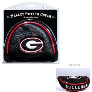 Georgia Bulldogs Mallet Putter Cover