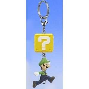 com New Super Mario Brothers Connect Mascot DX Clip On/Keychain Luigi