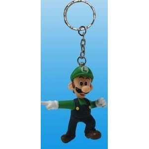 Super Mario Luigi Keychain Japanese Import Everything