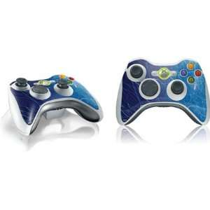 Blue Absrac Vinyl Skin for 1 Microsof Xbox 360 Wireless Conroller