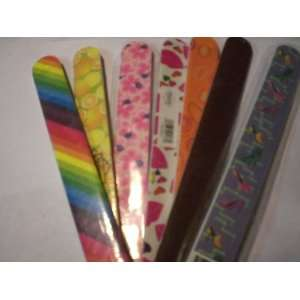 Double sided Nail File Assorted Colors By Diamond