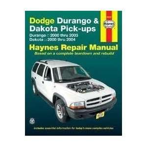 Dodge Durango & Dakota Pick ups Publisher Haynes  N/A  Books