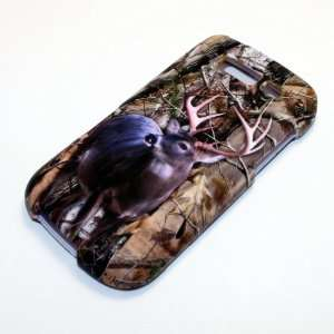 Samsung Blaze 4G 4 G Deer Hunt Brown Dried Forest Leaves Trees