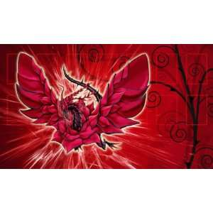 Black Rose Dragon Custom Playmat / Gamemat / Mat [Toy]: Toys & Games