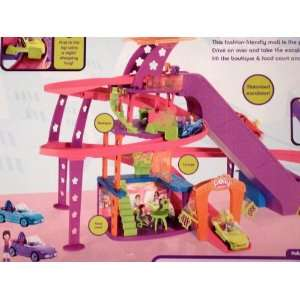 Polly Pocket Race to the Mall Mega Value Set with 10 Cars & 10 Mini