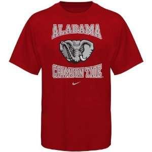 Nike Alabama Crimson Tide Preschool Crimson Mascot T shirt