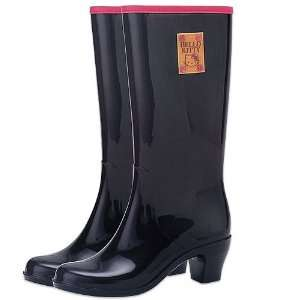 [Hello Kitty] black rain boots black Toys & Games