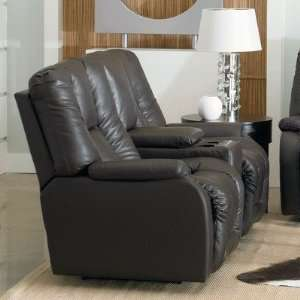Eric Double Reclining Console Sofa