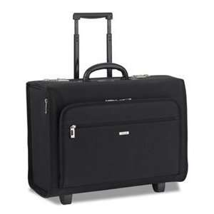 Solo Classic Collection Rolling Laptop Catalog Case Black