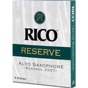 Rico Reserve Classic Alto Sax Reeds, Strength 4.5, 5 pack