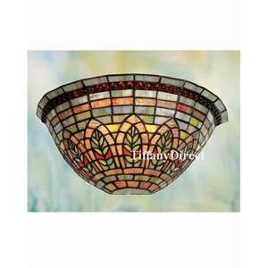 Tiffany Style Stained Glass Wall Sconce Lamp W1229