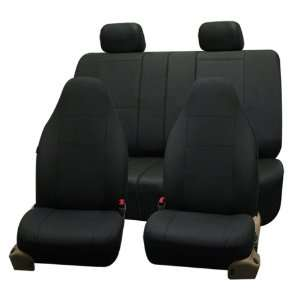 FH PU006114 Triad Synthetic Leather Car Seat Covers, Airbag Ready and