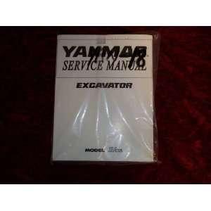 Excavator Model SV100 OEM Service Manual Yanmar Excavator Books
